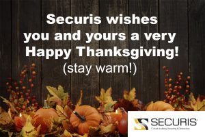 data destruction and IT recycling company happy Thanksgiving