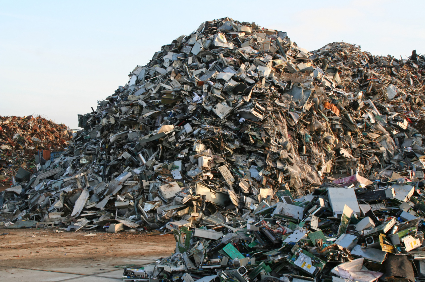 computer landfill