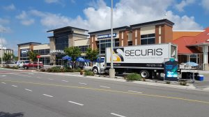 Hard drive shredding event