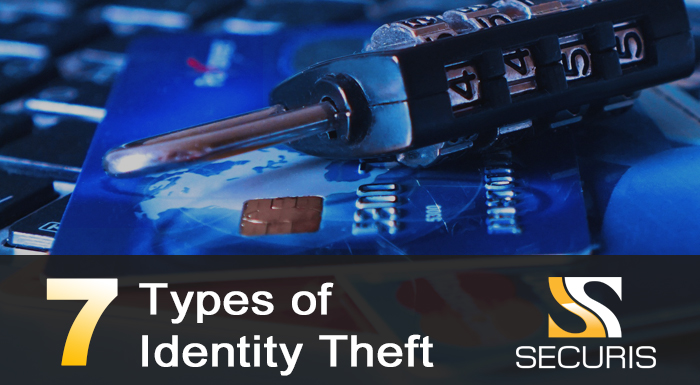 7 types of  identity theft