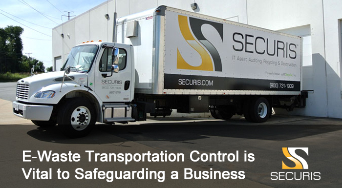E-Waste Transportation Control Is Vital to Safeguarding Your Business