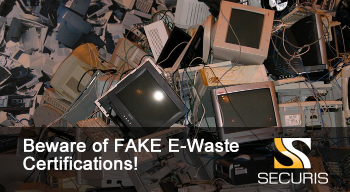 E-Scrap Processor Caught with a FORGED R2 Certificate | Electronics ...