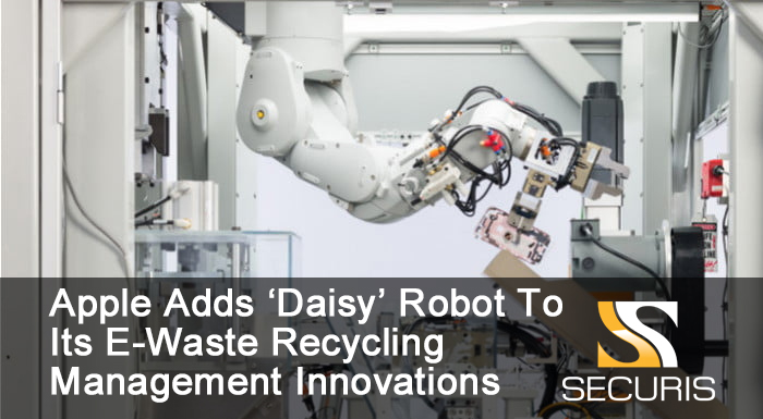Apple Adds 'Daisy' To Its E-Waste Management Innovations