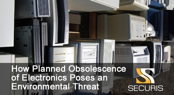 How Planned Obsolescence of Electronics Poses an Environmental Threat