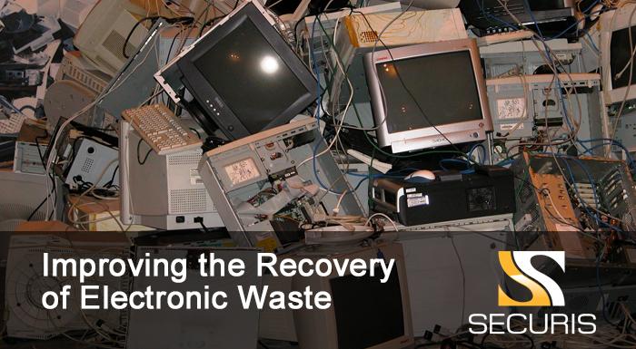 recovery of ewaste