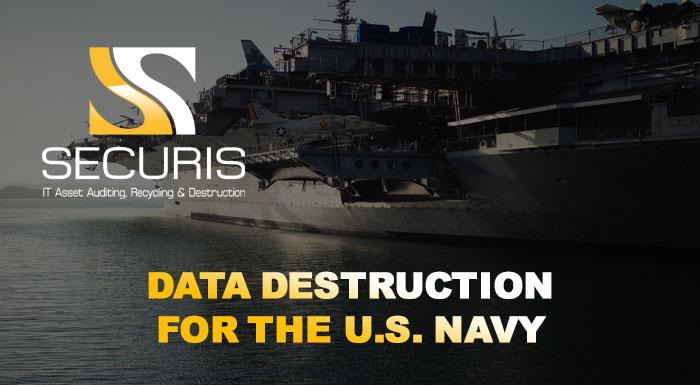 How the US Navy Handles Data Destruction